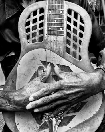 John Dee Holeman's Hands, Hillsboro, NC 2015